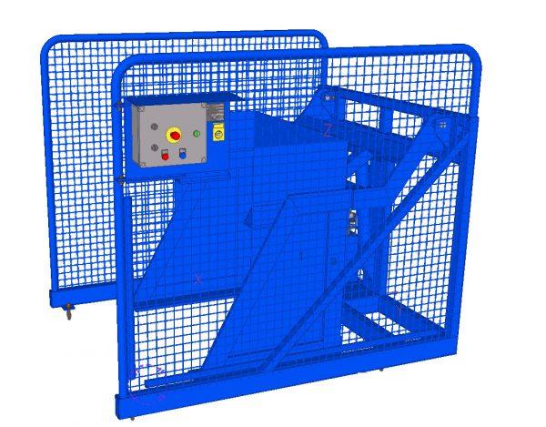 ADR K-500 LTR BAK kantelaar tbv plastic bakken