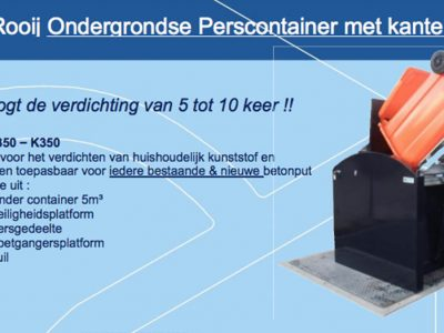 ADR K(S)350 ondergrondse (pers)container