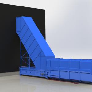 ADR L-2500 tegen wand en doorvoer tweede verdieping